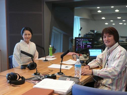 FM岡山 ラジオ出演