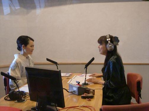 FMラジオ出演 無料着付教室のご案内