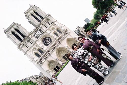 2006 G.W.パリ旅行
