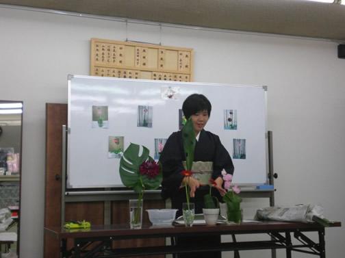 生花アレンジ教室