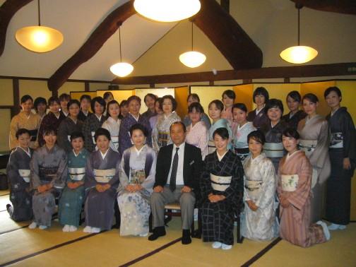 和食のマナーと散策会