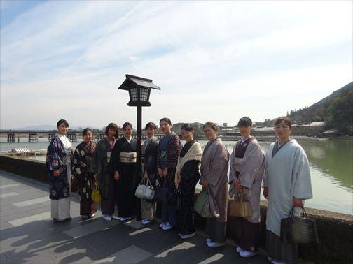 京都工房見学・嵐山散策