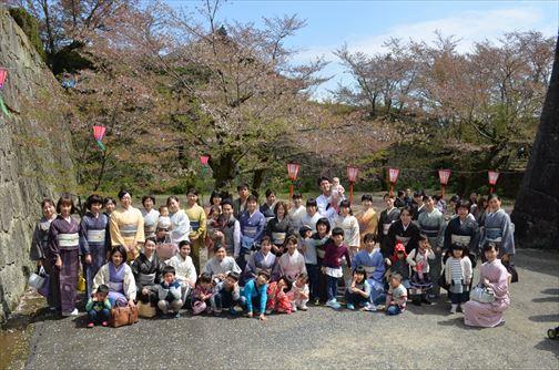 津山鶴山公園お花見散策会