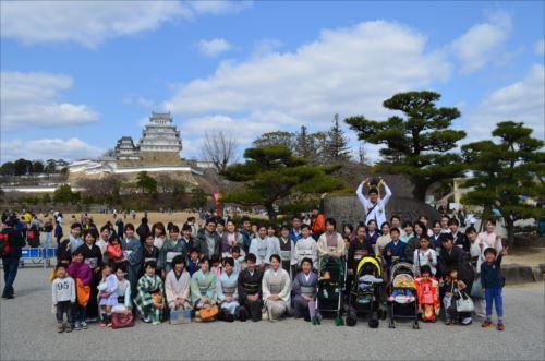 姫路城お花見散策会