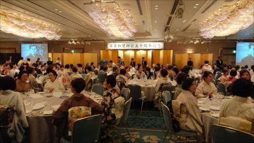 和装師会50周年パーティ&京都散策